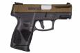 Taurus G2C 9MM BURNT BRONZE/BLK 12+1 - 1G2C93A12