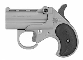 "Cobra - Big Bore Derringer, 9mm, 2.75"" Barrel, Fixed Sights, Satin, Black Grips, 2-rd - BBG9SB"