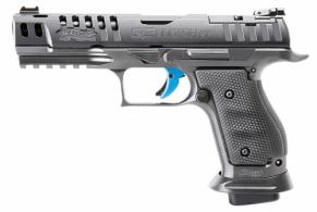 "Walther Arms - Q5 Match SF Pro, 9mm, 5"" Barrel, Fiber Optic Frt/Adj Rear Sights, Steel Frame, Black, 17rd - 2846951"