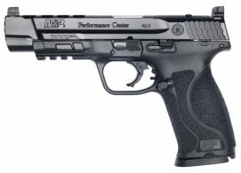 "Smith & Wesson - PC M&P9 M2.0 CORE Ported, 9mm, 5"" Barrel, Black, 17-rd - 11833"