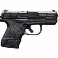 "Mossberg MC1sc 9mm Subcompact Semi Auto Pistol 3.4"" Barrel 7 Rounds 3-Dot Sights No Manual Safety Chamber View Port Polyme - 89007"
