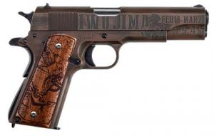 AO 1911 .45 ACP 5 75TH ANNIV IWO JIMA TRIBUTE - 1911BKOWC6
