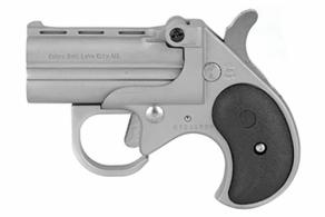 "Cobra - Big Bore Derringer, 38 Special, 2.75"" Barrel, Fixed Sights, Satin, Black Grips, 2-rd - BBG38SB"