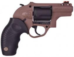 "Taurus 605 Poly .357 Magnum 2"" Black/Brown 5 Shot - 2605021B"