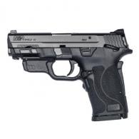 Smith & Wesson LE M&P9 Shield EZ Thumb Safety Red Laser 8rd - 12438LE