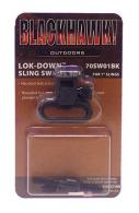 "BlackHawk 1"" Blue Lock Down Mag Cap/Swivel For Remington 870"