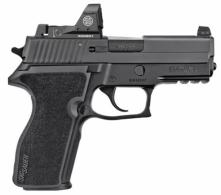 Sig Sauer 229R9BSSRX P229 Single/Double Action 9mm 3.9 10+1 Black 1-Piece Ergo Grip B - 229R9BSSRX