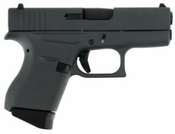 Glock PI4350201SNP G43 Subcompact Double 9mm Luger 3.39 6+1 Gray Interchangeab - PI4350201SNP