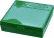 "MTM P1004510 P-100 Flip-Top Pistol Ammo Box 1.3"" OAL Green Poly - P1004510"