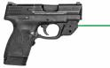 Smith & Wesson 11881 M&P Shield Double Action .45 ACP 3.3 6+1/7+1 Black Polymer/Crimso - 11881