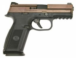 FN HERSTAL 66100011 FN HERSTALS 9 Double 9mm Luger 4 17+1 Black Interchangeable Backstrap Grip - 66100011