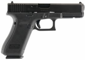 Glock G17 Gen 5 Double 9mm Luger 4.48 17+1 Fixed Black Interchangeab