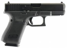 Glock G19 Gen 5 Double 9mm 15+1 Fixed Black
