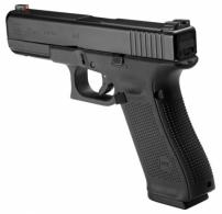 Glock PA175031AB G17 Gen5 Double Action 9mm 4.49 10+1 Night Sights Black Interchangeable - PA175031AB