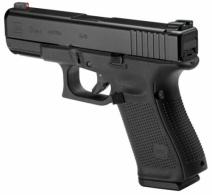 Glock PA1950301AB G19 Gen5 Double Action 9mm 4.02 10+1 Night Sights Black Interchangeable - PA1950301AB