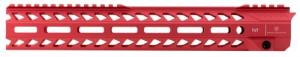 "Strike STRIKERAIL Strike Rail AR-15 Rifle Aluminum Red 13.5"" - STRIKERAIL"
