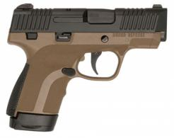 Honor Defense HG9SCMSFDE Honor Guard Sub-Compact Double 9mm Luger MS 3.2 7+1/8 - HG9SCMSFDE