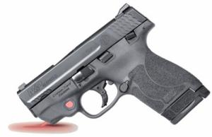 Smith & Wesson 11672 M&P 40 Shield M2.0 with Crimson Trace Red Laser Double Action 40 - 11672