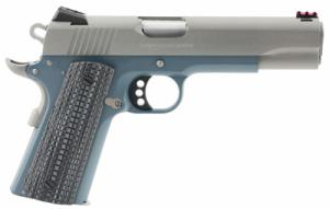 Colt Mfg O1072CCSBT 1911 Competition 70 Series Double 9mm Luger 5 9+1 Blue G10 - O1072CCSBT