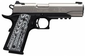 Browning 051923492 1911-380 Black Label Pro with Rail Single 380 Automatic Colt - 051923492