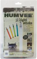 Humvee Accessories HMV6FP12 12 Piece Light Stick Family Pack White/Blue/Red/Gre - HMV6FP12