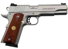 Para Ordnance 8 1 Round Stainless Single Action 45 ACP w F