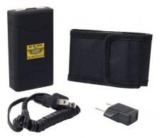 Uzi Accessories UZISG1500 Law Enforcement Stun Gun Portable 2.8 oz Contact Blk - UZISG1500