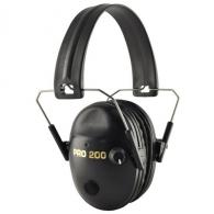 Pro Ears P200 Pro 200 Electronic Ear Muffs 19 dB Black - P200