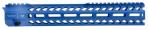 "Strike SISTRIKERAIL Strike Rail with M-Lok A-15 Rifle Aluminum Blue Hard Coat Anodized 13.5"" - SISTRIKERAIL135BLU"