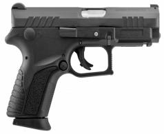 Grand Power GPQ1S Q1S Double Action 9mm 3.35 12+1 Black Polymer Grip Black - GPQ1S