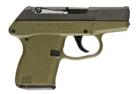 "Kel-Tec P-3AT 380 ACP 2.7"" 6+1 Green/Black - P3ATPKGN"