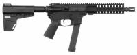CMMG 99A51DC MkG Guard AR Pistol Semi-Automatic 9mm Luger 8 33+1 Polymer Black - 99A51DC