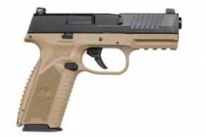FN 66100359 509 9MM NMS 17R FDE/BLK LE - 66100359