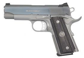 Wilson Combat 7 + 1 Round Compact 45 ACP w/Wood Grips/Stainl - WCQBCAS