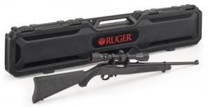 Ruger 10/22 Carbine 22LR Blk Syn w/Scope & Case