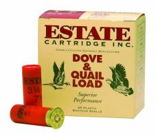"Estate 12 Ga. Extra Heavy Upland Game 2 3/4"" 1 1/4 oz, #8 Lead - CASE"
