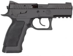 "Kriss USA WSDCME084 Sphinx SPD Compact Single/Double Action 9mm 3.7"" 10+1 Black Polymer - WSDCME084"