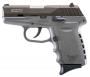 "SCCY Industries CPX2CBSG CPX-2 Double 9mm 3.1"" 10+1 Gray Polymer Grip/Frame Gri"