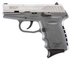 SCCY CPX2TTSG 9MM 3.1 CRB No Manual Safety 10 GREY - CPX2TTSG