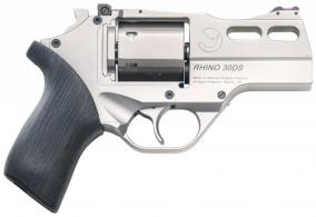 Chiappa Firearms 340290 Rhino 30DS Single/Double 357 Magnum 3 6 rd Black Rubbe - 340290