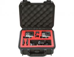 SKB 3I09074GP2 SKB Go Pro Case iSeries Black Go Pro Case iSeries - 3I09074GP2