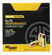 Sig Sauer E40SB2200 Elite Ball 40 Smith & Wesson (S&W) 180 GR Full Metal Jacket - 51
