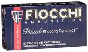 Fiocchi 9MM Luger Pistol Shooting Dynamics 158 Grain Full Me
