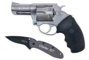 "Charter Arms Stainless 6 Round 327 Fed./2.2"" Barrel/Kershaw - 73270"