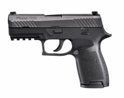 Sig Sauer 320F9BSS10 P320 Full Size Double Action 9mm 4.7 10+1 Black Polymer Gr - 320F9BSS10