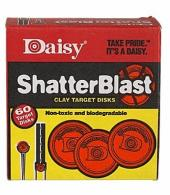 "Daisy 60 Count 2"" ShatterBlast Clay Targets"