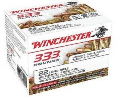 Winchester 22 Long Rifle 36 Grain Hollow Point Copperplated - CASE