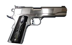 Dan Wesson 7 + 1 Round 45 ACP w/Stainless Finish/Black Flame - 01955