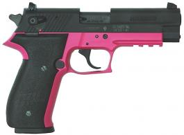 Sig Sauer 10 1 Round 22 Long Rifle w Pink Finish Tac Rail