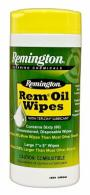 "Remington Rem Oil Pop Up Gun Cleaning Wipes 7""x8"" 60pk - 18384"